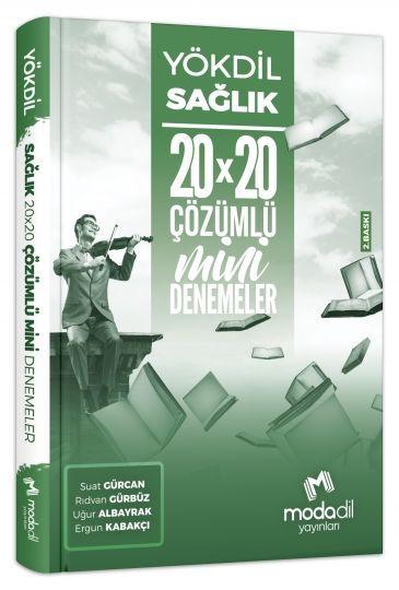 Modadil Yayınları YÖKDİL Sağlık 20*20 Mini Denemeler