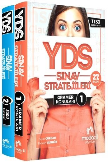 Modadil Yayınları YDS Sınav Stratejileri Konu Anlatımlı 1 2
