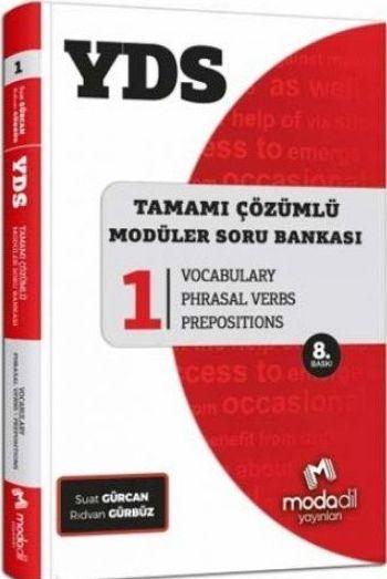 Modadil Yayınları YDS Tamamı Çözümlü Modüler Soru Bankası Serisi 1