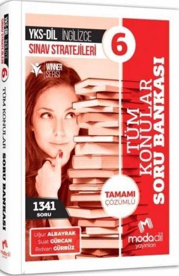 Modadil Yayınları YKS DİL İngilizce Sınav Stratejileri 6 Tamamı Çözümlü Tüm Konular Soru Bankası