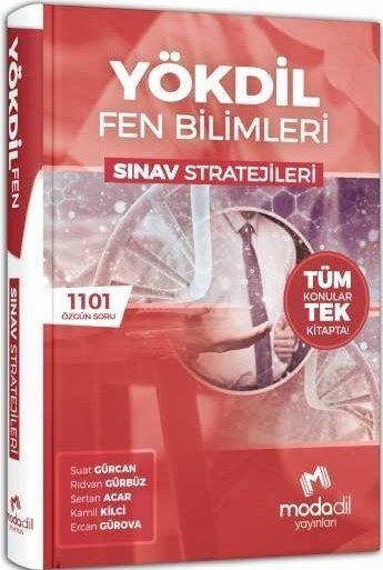 Modadil Yayınları YÖKDİL Fen Bilimleri Sınav Stratejileri Tüm Konular