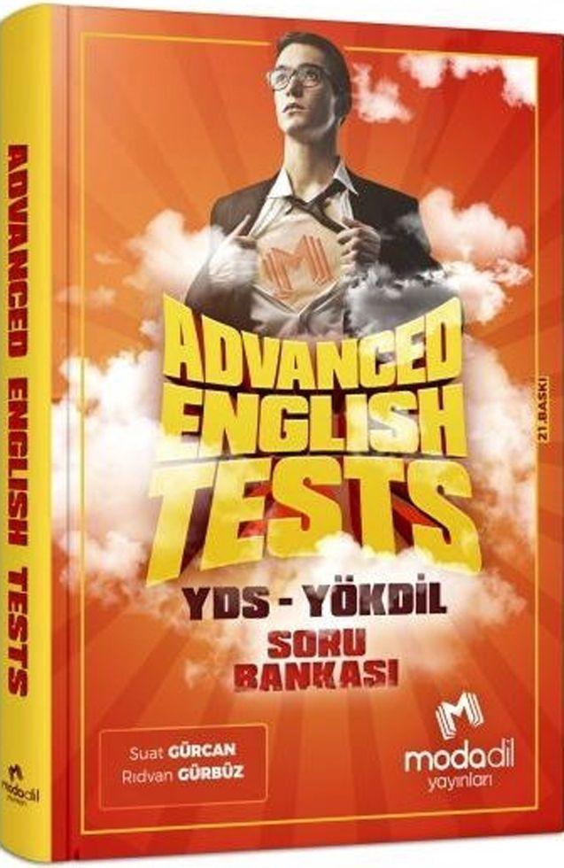 Modadil Yayınları Advanced English Tests YDS YÖKDİL Soru Bankası