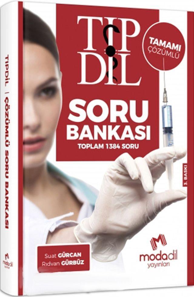 Modadil Yayınları TIPDİL Tamamı Çözümlü Soru Bankası