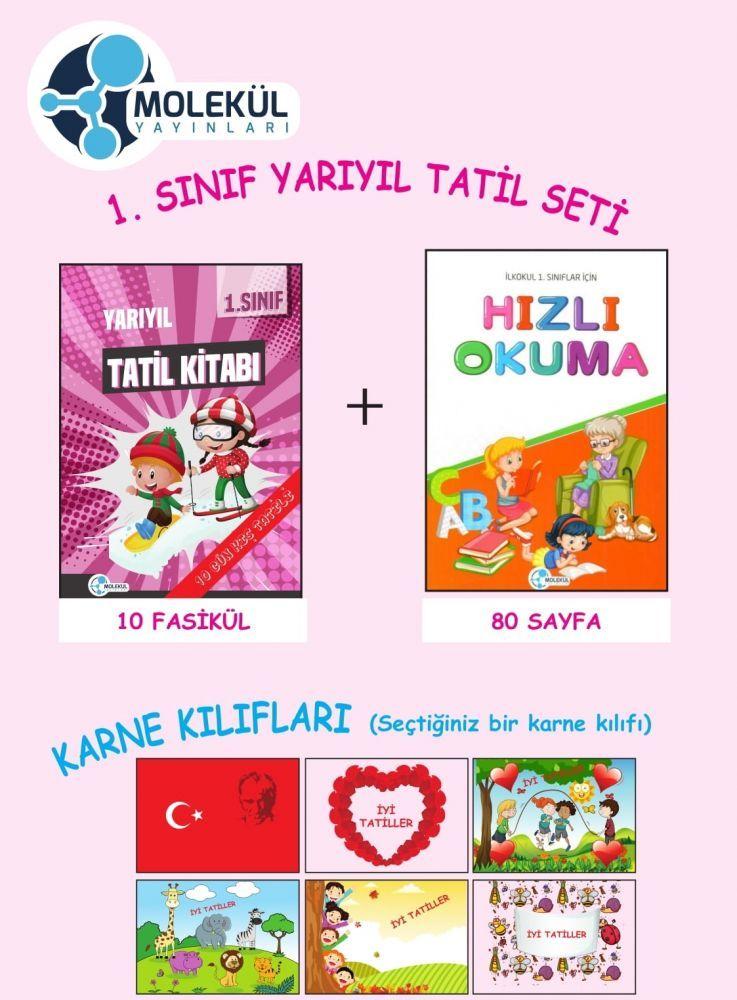 Molekül Yayınları 1. Sınıf Yarıyıl Tatil Seti