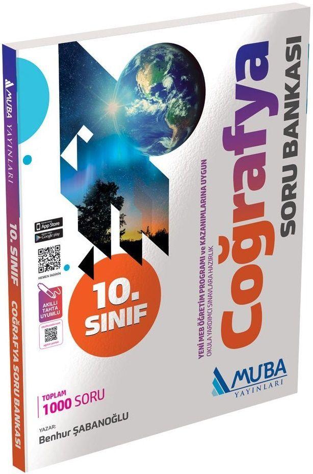 Muba Yayınları 10. Sınıf Coğrafya Soru Bankası