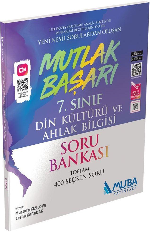 Muba Yayınları 7. Sınıf Din Kültürü ve Ahlak Bilgisi Mutlak Başarı Soru Bankası