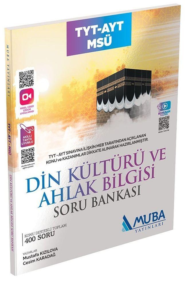 Muba Yayınları TYT AYT MSÜ Din Kültürü ve Ahlak Bilgisi Soru Bankası