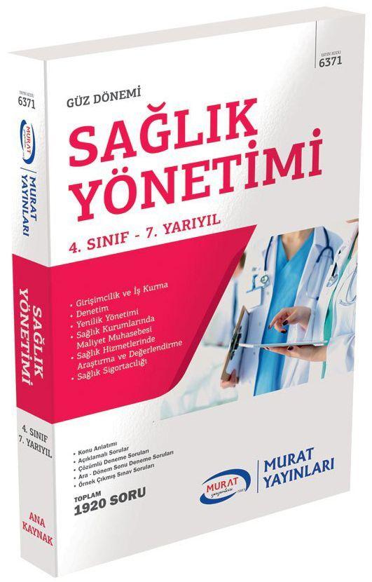 Murat AÖF Sağlık Yönetimi 4. Sınıf 7. Yarıyıl 6371