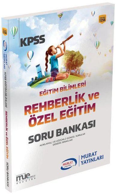 Murat Yayınları 2019 KPSS Eğitim Bilimleri Rehberlik ve Özel Eğitim Soru Bankası