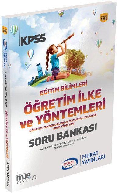 Murat Yayınları 2019 KPSS Eğitim Bilimleri Öğretim İlke ve Yöntemleri Soru Bankası