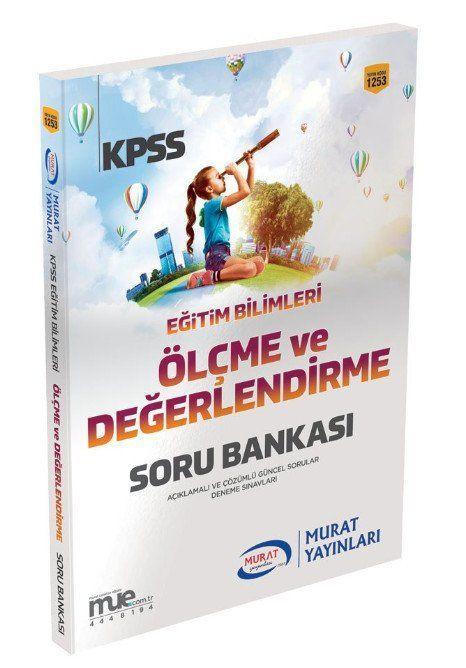 Murat Yayınları 2019 KPSS Eğitim Bilimleri Ölçme ve Değerlendirme Soru Bankası