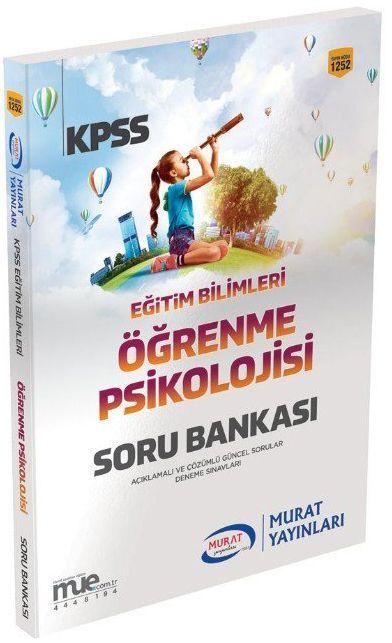 Murat Yayınları 2019 KPSS Eğitim Bilimleri Öğrenme Psikolojisi Soru Bankası