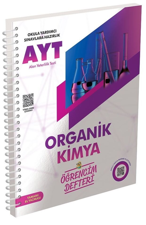 Murat Yayınları AYT Organik Kimya Öğrencim Defteri