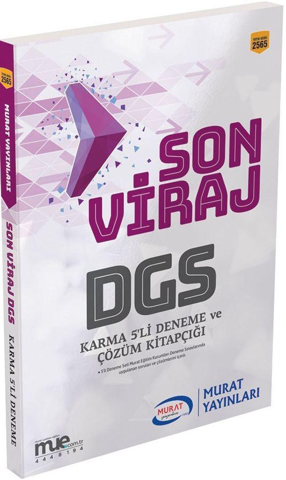 Murat Yayınları DGS Son Viraj Karma 5li Deneme ve Çözüm Kitapçığı
