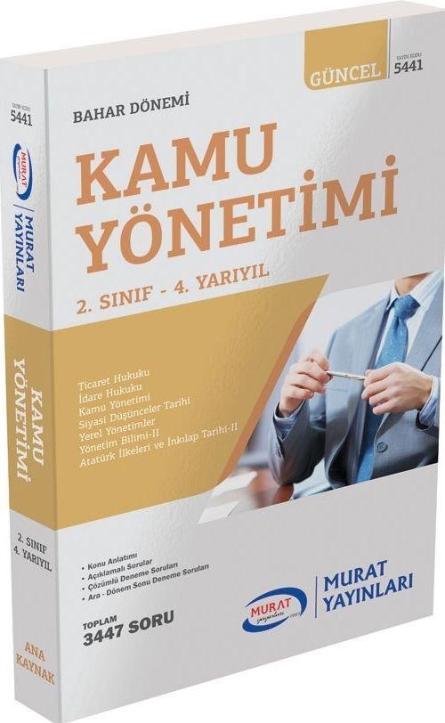 Murat Yayınları Kamu Yönetimi