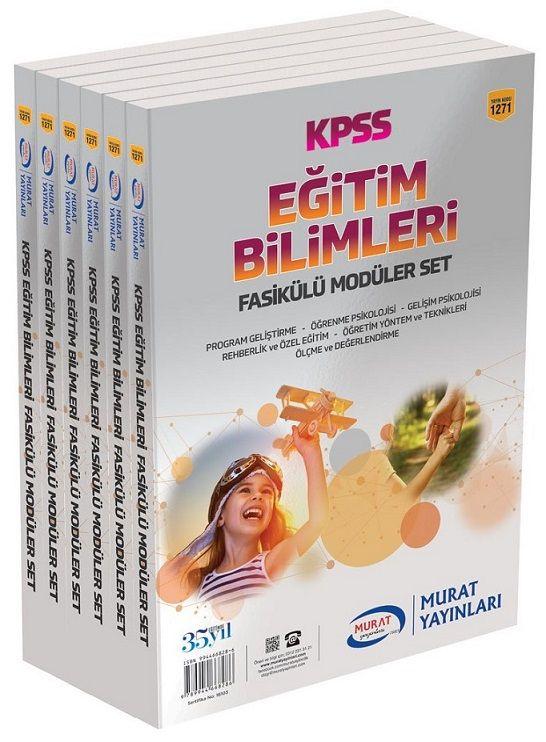 Murat Yayınları KPSS Eğitim Bilimleri Fasikülü Modüller Set 1271