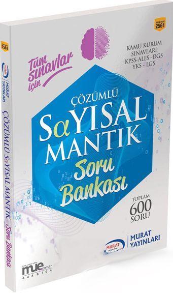 Murat Yayınları Tüm Sınavlar İçin Sayısal Mantık Çözümlü Soru Bankası