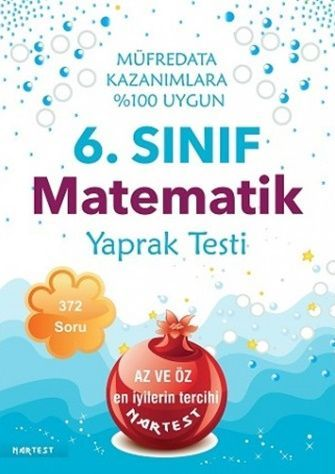 Nartest 6. Sınıf Matematik Yaprak Test