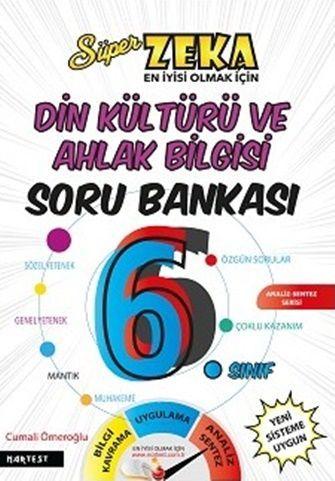 Nartest 6. Sınıf Süper Zeka Din Kültürü ve Ahlak Bilgisi Soru Bankası