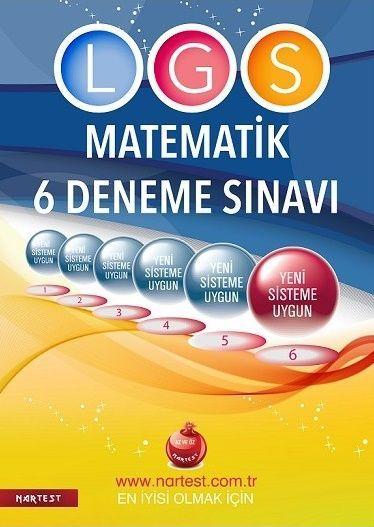 Nartest 8. Sınıf LGS Fen Liselerine Hazırlık Matematik 6 Deneme Sınavı