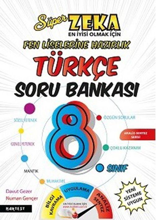 Nartest 8. Sınıf Süper Zeka Fen Liselerine Hazırlık Türkçe Soru Bankası