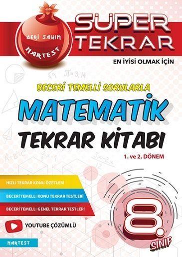 Nartest Yayınları 8. Sınıf Matematik Süper Tekrar Kitabı