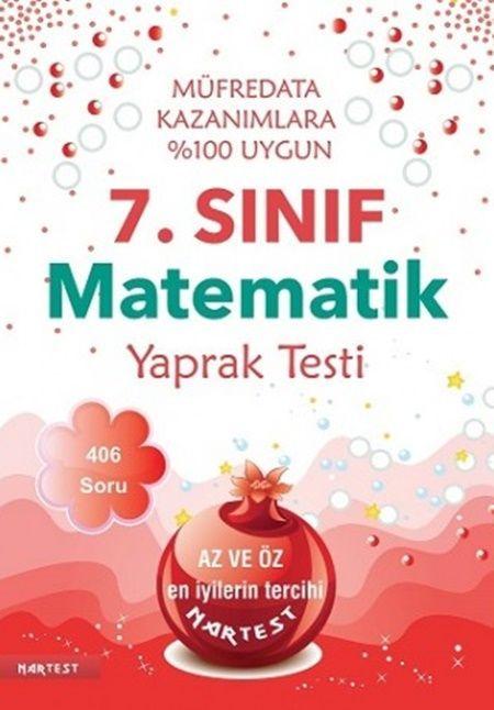 Nartest Yayınları 7. Sınıf Matematik Yaprak Test