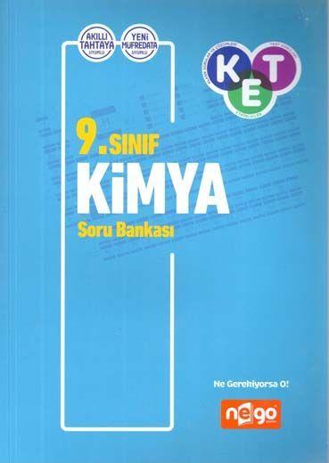 Nego Yayınları 9. Sınıf Kimya Soru Bankası