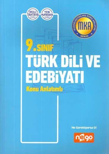 Nego Yayınları 9. Sınıf Türk Dili ve Edebiyatı Konu Anlatımlı