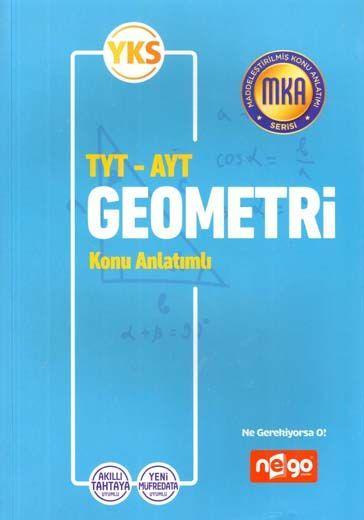 Nego Yayınları TYT AYT Geometri Konu Anlatımlı