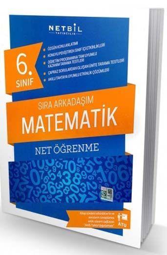 Netbil Yayıncılık 6. Sınıf Matematik Net Öğrenme Sıra Arkadaşım