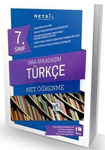 Netbil Yayıncılık 7. Sınıf Türkçe Net Öğrenme Sıra Arkadaşım