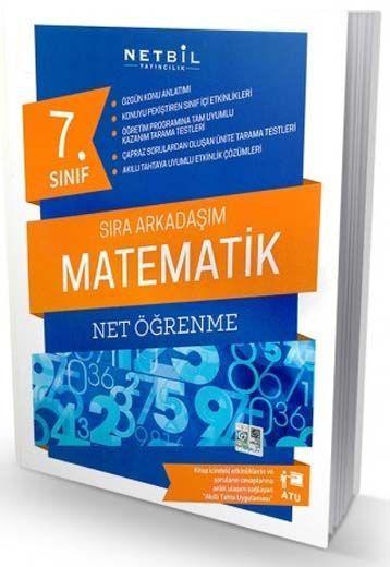 Netbil Yayıncılık 7. Sınıf Matematik Net Öğrenme Sıra Arkadaşım