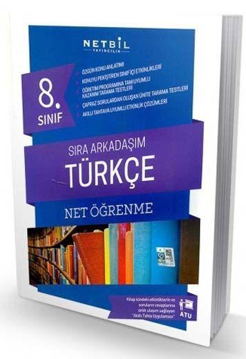 Netbil Yayıncılık 8. Sınıf Türkçe Net Öğrenme Sıra Arkadaşım