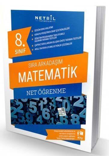 Netbil Yayıncılık 8. Sınıf Matematik Net Öğrenme Sıra Arkadaşım