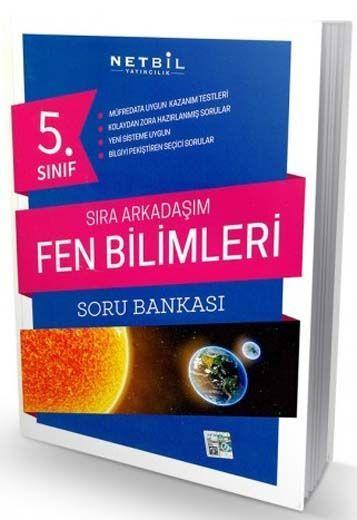Netbil Yayıncılık 5. Sınıf Fen Bilimleri Sıra Arkadaşım Soru Bankası