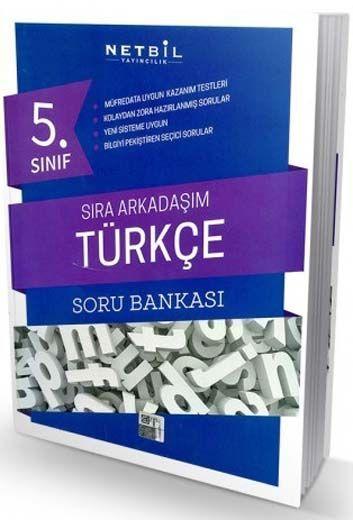 Netbil Yayıncılık 5. Sınıf Türkçe Sıra Arkadaşım Soru Bankası