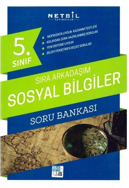 Netbil Yayıncılık 5. Sınıf Sosyal Bilgiler Sıra Arkadaşım Soru Bankası