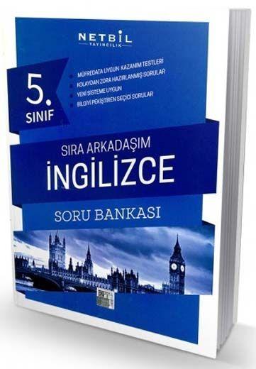Netbil Yayıncılık 5. Sınıf İngilizce Sıra Arkadaşım Soru Bankası