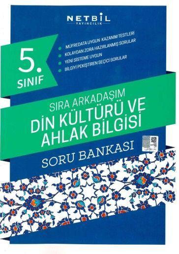 Netbil Yayıncılık 5. Sınıf Din Kültürü ve Ahlak Bilgisi Sıra Arkadaşım Soru Bankası