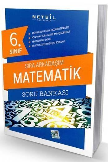 Netbil Yayıncılık 6. Sınıf Matematik Sıra Arkadaşım Soru Bankası