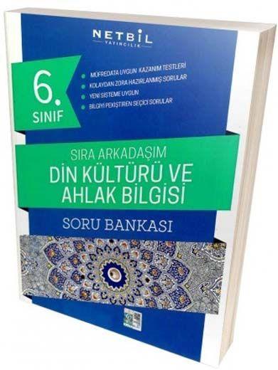 Netbil Yayıncılık 6. Sınıf Din Kültürü ve Ahlak Bilgisi Sıra Arkadaşım Soru Bankası