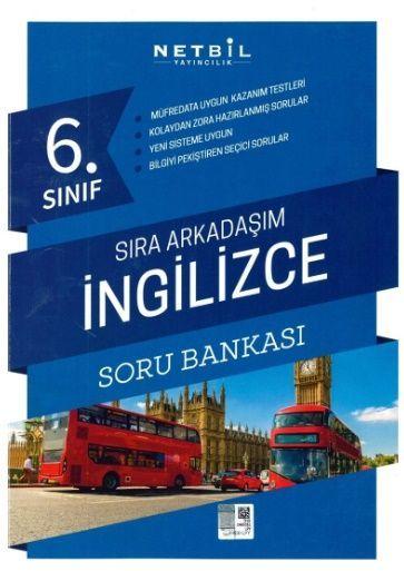 Netbil Yayıncılık 6. Sınıf İngilizce Sıra Arkadaşım Soru Bankası
