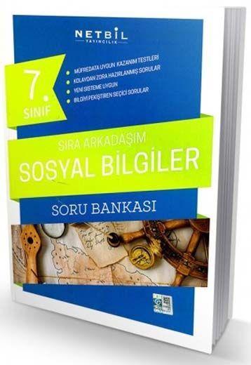 Netbil Yayıncılık 7. Sınıf Sosyal Bilgiler Sıra Arkadaşım Soru Bankası