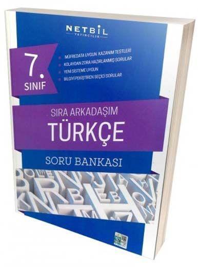 Netbil Yayıncılık 7. Sınıf Türkçe Sıra Arkadaşım Soru Bankası
