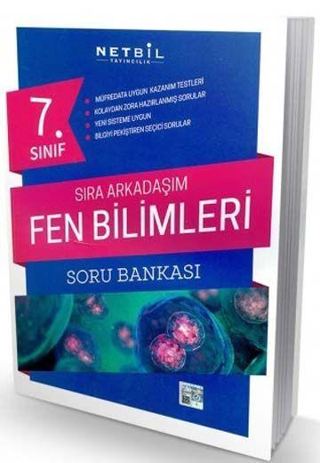 Netbil Yayıncılık 7. Sınıf Fen Bilimleri Sıra Arkadaşım Soru Bankası