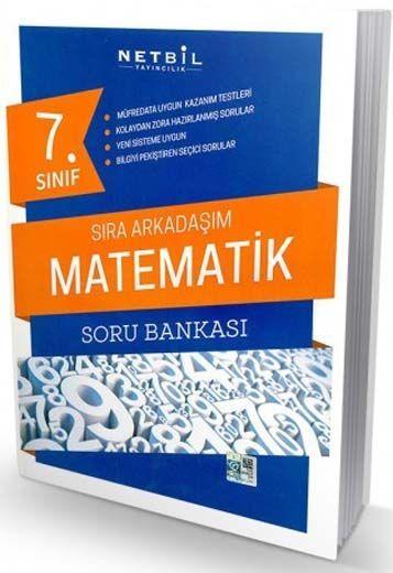 Netbil Yayıncılık 7. Sınıf Matematik Sıra Arkadaşım Soru Bankası