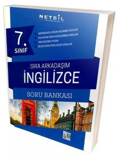 Netbil Yayıncılık 7. Sınıf İngilizce Sıra Arkadaşım Soru Bankası