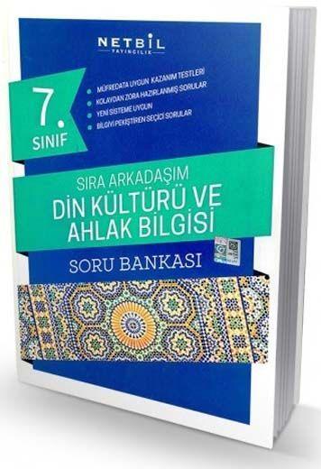 Netbil Yayıncılık 7. Sınıf Din Kültürü ve Ahlak Bilgisi Sıra Arkadaşım Soru Bankası