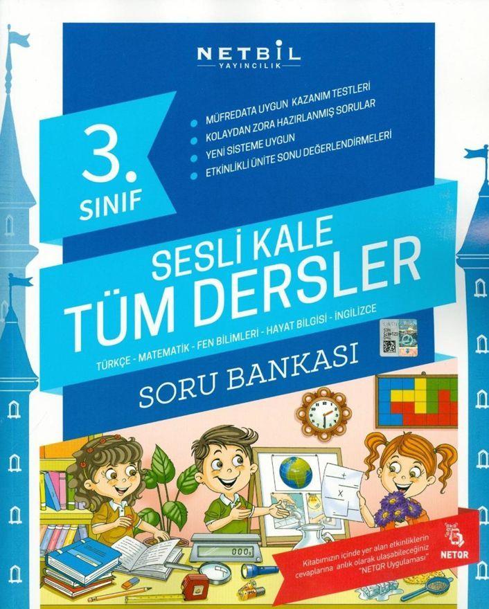 Netbil Yayıncılık 3. Sınıf Tüm Dersler Sesli Kale Soru Bankası